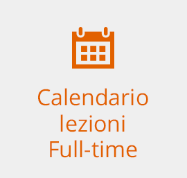 Calendario lezioni Full-time