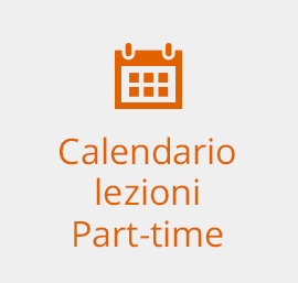 Calendario lezioni Part-time
